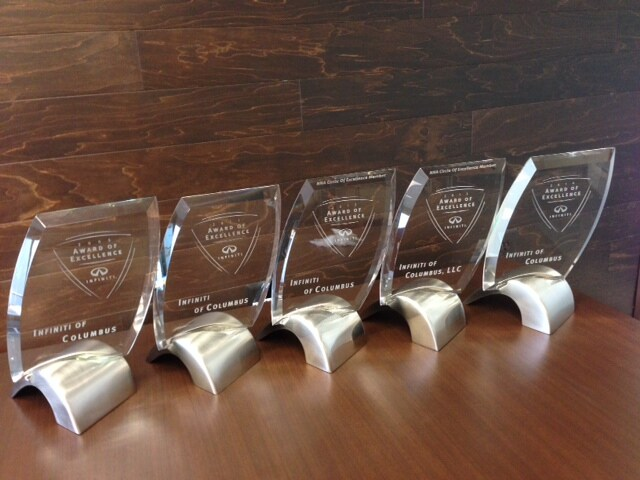 INFINITI of Columbus awards