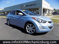 Pre-Owned 2013 Hyundai Elantra Limited Sedan for sale in Mechanicsburg