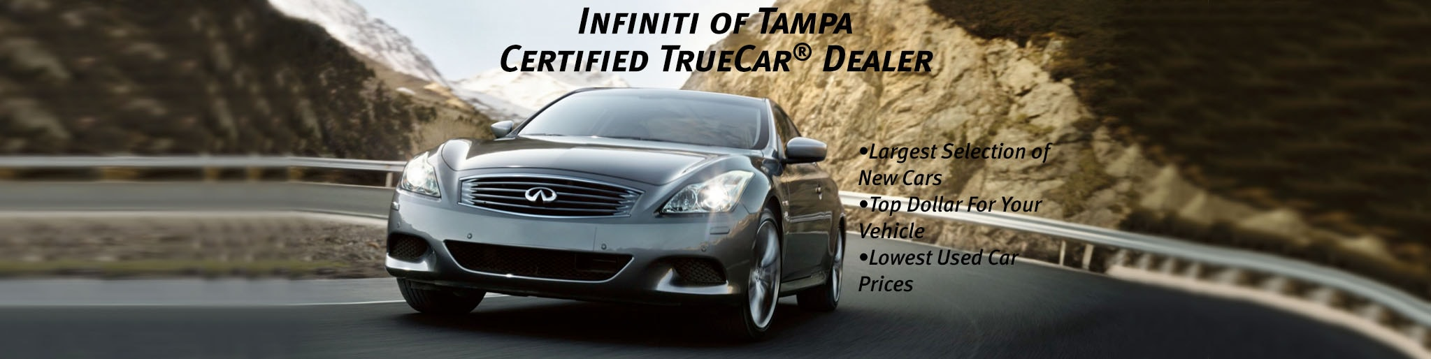 certified infiniti truecar dealer infiniti of tampa. Black Bedroom Furniture Sets. Home Design Ideas