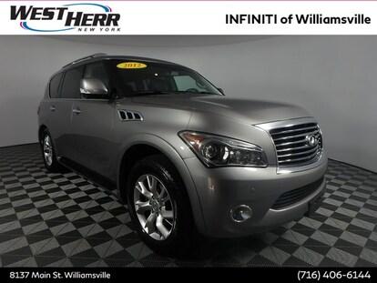 Infiniti Qx56 For Sale >> Used 2012 Infiniti Qx56 For Sale In The Buffalo Ny Area West Herr Auto Group Iwx17204a