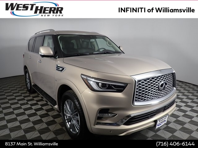Infiniti Qx80 For Sale >> Used 2019 Infiniti Qx80 For Sale At Mercedes Benz Of Rochester Vin