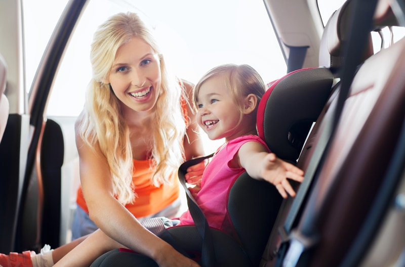 How to Put in a Car Seat