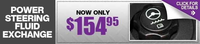 Power Steering Fluid Exchange Special, Phoenix