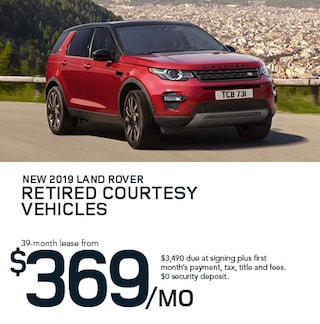 2019 Land Rover Retired Courtesy Vehicles