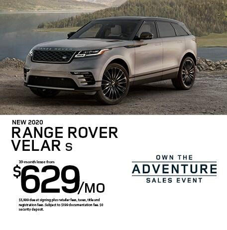 2020 Range Rover Velar S Lease
