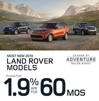 Most new 2019 Land Rover Models