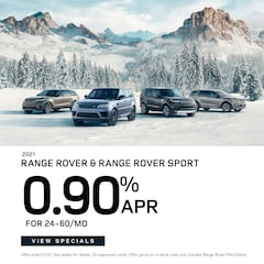 2021 Range Rover and Range Rover Sport 0.90% APR