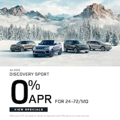 All 2020 Discovery Sport 0% APR