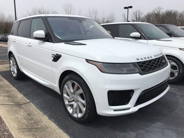 White Land Rover >> New Fuji White 2018 Land Rover Range Rover Sport Supercharged Dynamic For Sale In Indianapolis In Salwr2re6ja197495