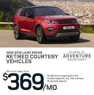 2019 Retired Courtesy Land Rovers and Range Rovers