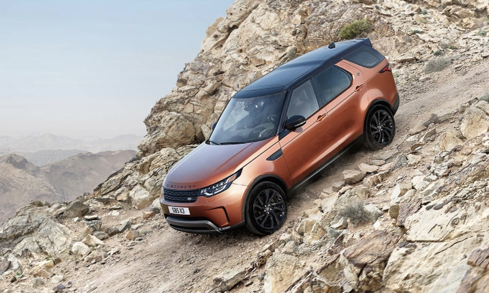2017 Land Rover Discovery at Land Rover Indianapolis