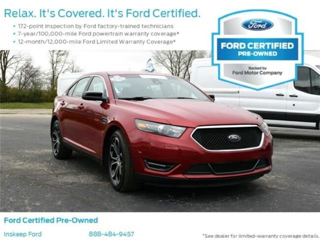 2018 Ford Taurus SHO All-wheel Drive Sedan