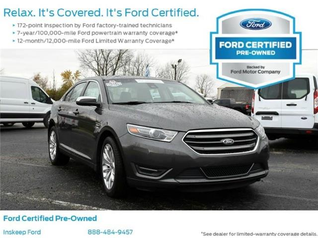 2018 Ford Taurus Limited Front-wheel Drive Sedan