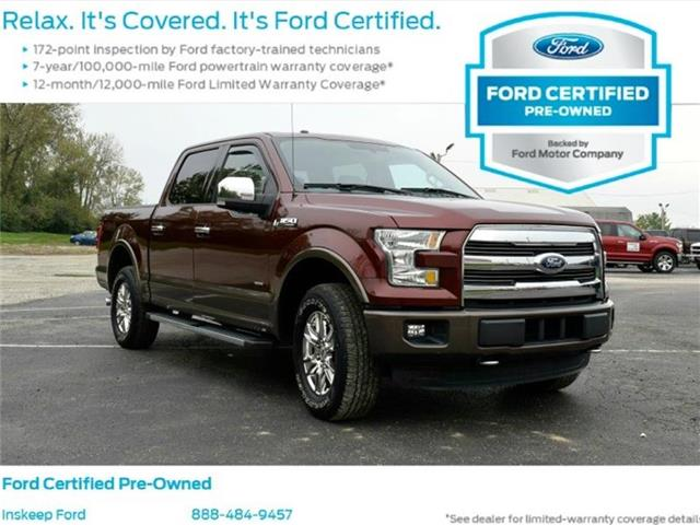 2015 Ford F-150 Lariat 4x4 SuperCrew Cab Styleside 5.5 ft. box 145