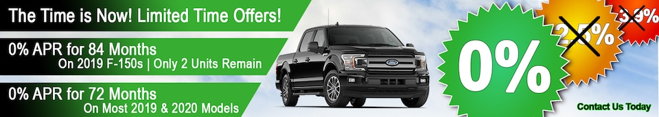 0% APR Ford Incentive for MY 19 AND 20