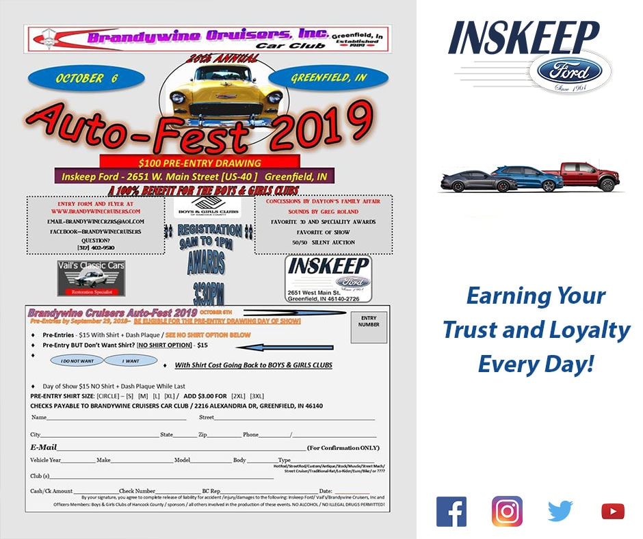 Ford fest 2019 dates