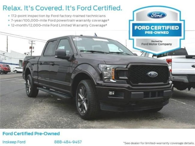 2018 Ford F-150 XLT 4x4 SuperCrew Cab Styleside 6.5 ft. box 157 in