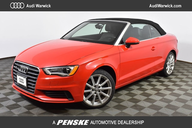 Used 2015 Audi A3 2.0T Premium (S tronic) Cabriolet for Sale in Warwick, RI