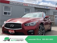 2015 INFINITI Q50 SPORT | TECH | 360° CAM | LANE DEPART Sedan
