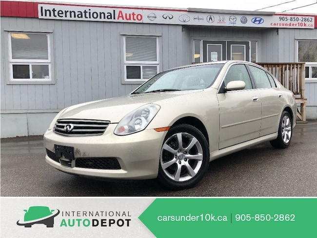 2005 INFINITI G35X AWD | MOONROOF | LEATHER Sedan