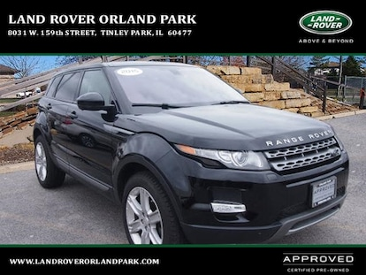 Land Rover Orland Park >> Used 2015 Land Rover Range Rover Evoque Pure Premium For Sale Chicago Joliet And Tinley Park Il Salvr2bg0fh024948