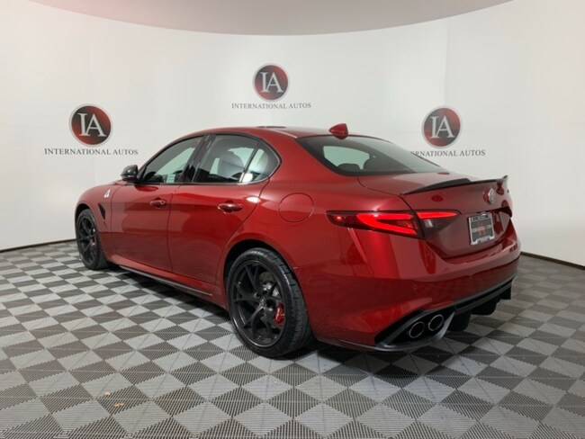 New 2019 Alfa Romeo Giulia Milwaukee Wi Zarfamev0k7602853