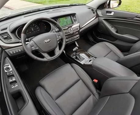2015 Kia Cadenza Interior