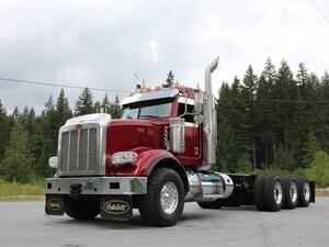 2015 PETERBILT 367 Tri-Drive Daycab, 18 Spd, Double Frame, Lea... Unit #4811