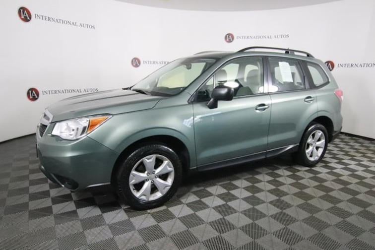 Used 2015 Subaru Forester 2.5i SUV in Tinley Park, IL