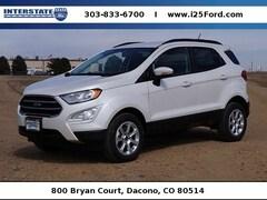 New 2018 Ford EcoSport SE SUV Dacono