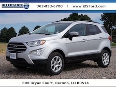 New 2018 Ford EcoSport SE SUV for sale in Broomfield