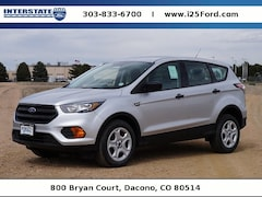 New 2018 Ford Escape S SUV for sale in Broomfield