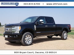 New 2018 Ford F-350 Platinum Truck Crew Cab for sale in Broomfield