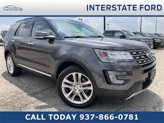 Used 2016 Ford Explorer Limited SUV GGC39732 in Cincinnati, OH