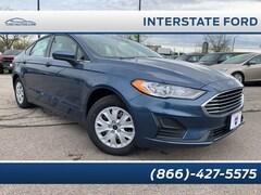New 2019 Ford Fusion S Sedan Miamisburg, OH