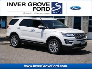 2016 Ford Explorer 4WD  Limited 2.3L 4cyl Ecoboost SUV 4WD