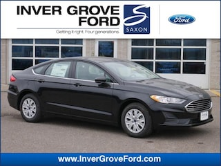 2019 Ford Fusion S Sedan Front-wheel Drive