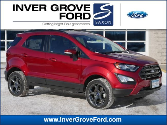 2018 Ford EcoSport SES 4WD SUV 4WD