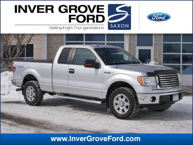 2011 Ford F-150 4WD Supercab 145 XLT 5.0L 8cyl Truck 4WD