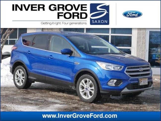 2017 Ford Escape SE 4WD 2.0L 4cyl Ecoboost SUV 4WD