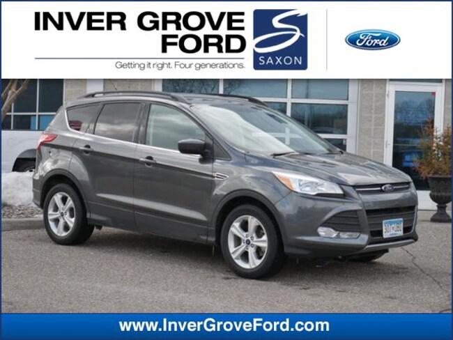 2016 Ford Escape 4WD  SE 2.0L 4cyl Ecoboost SUV 4WD