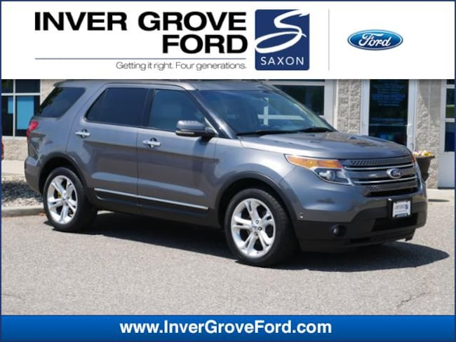 2011 Ford Explorer 4WD  Limited 3.5L 6cyl SUV 4WD