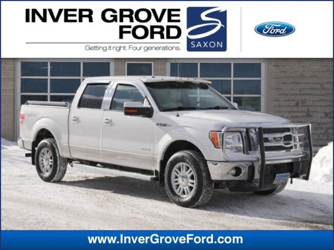 2011 Ford F-150 4WD Supercrew 145 Lariat 3.5L 6cyl Ecoboost Truck 4WD