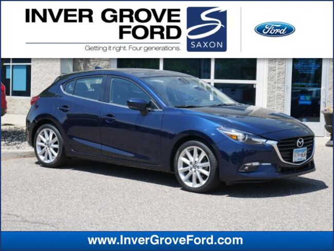 2017 Mazda Mazda3 5-Door Grand Touring Manual 2.5L 4cyl FWD