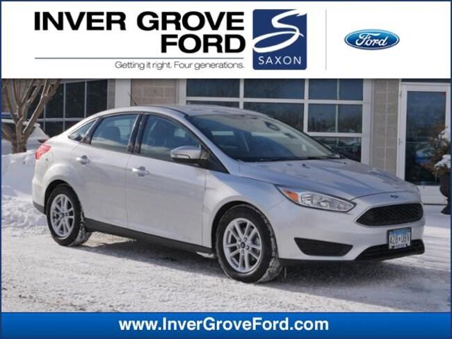 2016 Ford Focus SE 2.0L 4cyl Sedan FWD