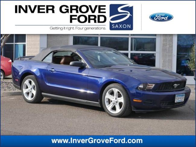 2010 Ford Mustang V6 Premium 4.0L Convertible RWD