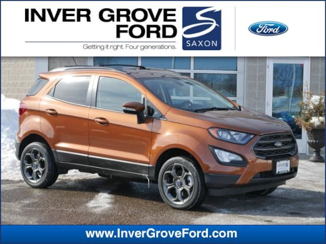 2018 Ford EcoSport SES 4WD 2.0L 4cyl SUV 4WD