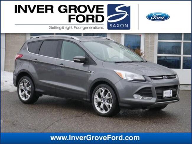 2014 Ford Escape 4WD  Titanium 2.0L 4cyl SUV 4WD