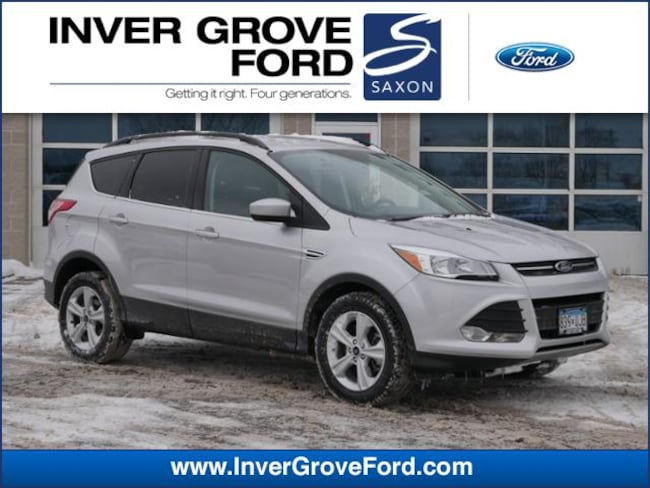 2016 Ford Escape FWD  SE 2.0L 4cyl Ecoboost SUV FWD