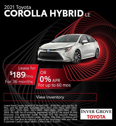 2021 Toyota Corolla Hybrid LE March
